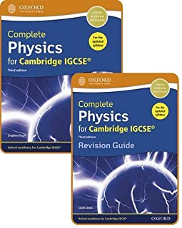 Complete Physics for Cambridge IGCSE®: Student Book & Revision Guide Pack Third Edition