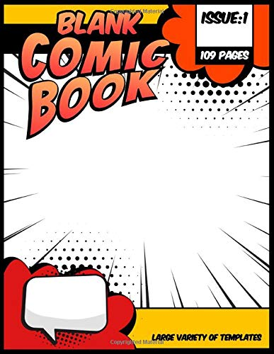 Blank Comic Book - Draw your own awesome story: Large variety of templates | Comic Panel Layout (Create your own comic book, Band 2)