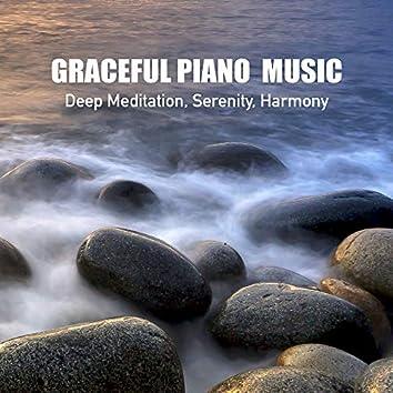 Graceful Piano Music, Deep Meditation, Serenity, Harmony