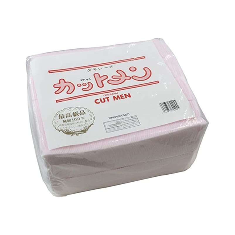 局キャッシュアスレチックタキレーヌカット綿/ピンク 250g 約550枚入