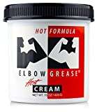 B. Cummings Elbow Grease Hot - Gleitcreme auf Ölbasis für tiefgreifende Action mit Wärmeeffekt -...