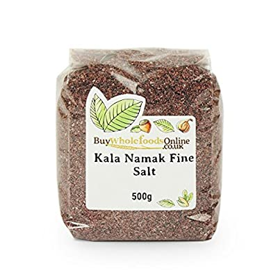 Kala Namak Fine Salt 500g from Buy Whole Foods Online Ltd.