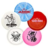 Dynamic Discs Premium 5 Disc Golf Set- Big Stamp Series   Premium Quality Frisbee Golf Discs   Special Edition Stamp Golf Discs   Colors Will Vary