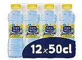Font Vella Sensación Agua Mineral sabor limón y lima - Pack 12 x 50cl