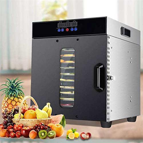 For Sale! YX Electric Food Dehydrator Stainless Steel Tray Humanized Design Food Dryer, Capacity Pre...