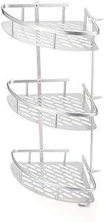 Support de rangement de coin de haute qualité 3Tier étagères de salle de bains shampooing douche rangement de cuisine rack...