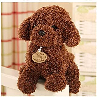 TREGIA 18/25 cm Simulation Teddy Dog Poodle Plush Toys Cute Animal Suffed Doll U Must Have Baby Girl Gifts The Favourite Comic Superhero Unboxing