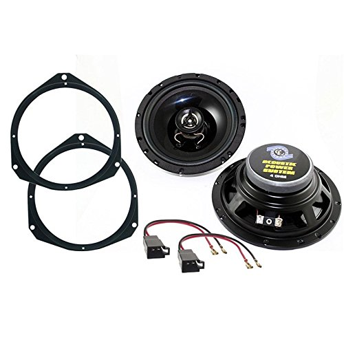 Lautsprecher-Set für Fiat Grande Punto / Punto Evo–2Wege, 120Watt–16,5cm, vorne