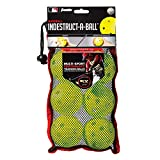 "Franklin Sports MLB Indestruct-A-Ball Baseballs (6 Pack), 9.0"", Optic Yellow"