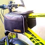 Golden Riders Bicycle Handlebar Frame Front Pannier Saddle Bag with Mobile Pouch