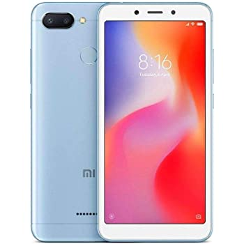 Xiaomi Redmi 6 LTE 64GB 3GB RAM Dual Blue: Xiaomi: Amazon.es ...