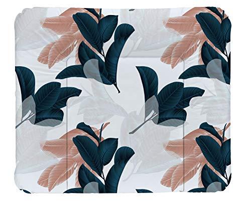 Rotho Babydesign Matelas à Langer Nordic Garden, À partir de 0 mois, TOP, 85 x 72, Multicolore, 20062 0001 DA