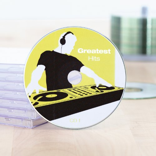 Herma 8381 CD-Beschriftungsset (A4 Software, Ø 116 mm, Papier matt) 25 Blatt weiß - 3