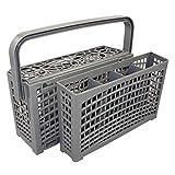 Il cestello per posate universale originale 2 in 1 per TUTTE le lavastoviglie connettore stabile | divisibile | posizionamento variabile | 23*8,5+4,5*13,5cm | plastica rinforzata resistente al calore