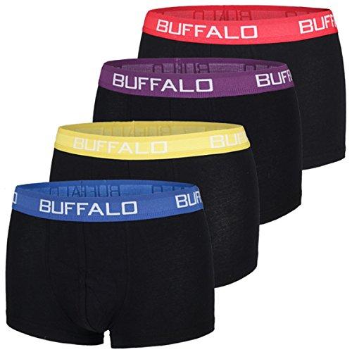 Buffalo Herren Hipster, Boxershorts (XL, Farbkombination 2)