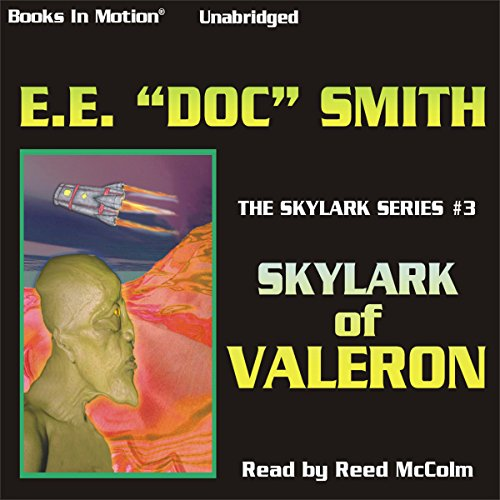 Skylark of Valeron audiobook cover art