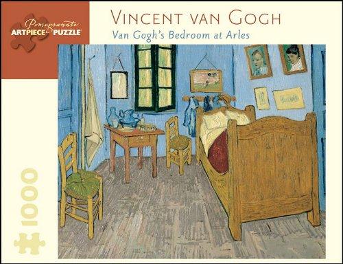 Vincent Van Gogh Van Goghs Bedroom at Arles 1000 Pc Jigsaw (Pomegranate Artpiece Puzzle)