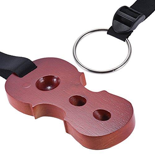 ammoon Hartholz Cello Endpin Rutschfester Stopphalter Ruheanker Protector Pad Celloform Palisander Farbe