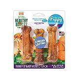 Nylabone Healthy Edibles Puppy Natural Long Lasting Dog Chew Treats...