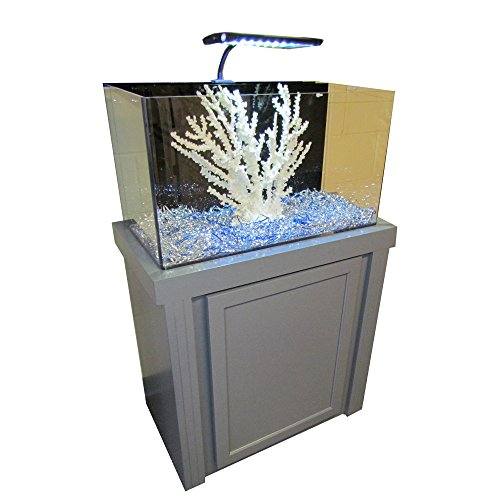R&J Enterprises Fusion 29 Gallon Aquarium Tank and Cabinet