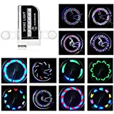 ROTTAY Bicycle Wheels Lights, Waterproof Bike Rim Lights/Spoke Lights With 14-LED and 30 Light Patterns for...