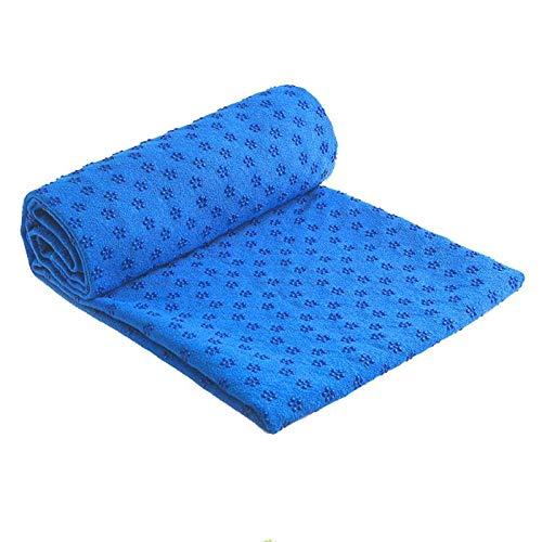HUJKKL Non Slip Cotton Yoga-Matte Abdeckung Teppich Plum-Punkt-Harz-Tuch-Decke für Sport Fitness-Übungs-Strand Tow,03