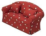 Inusitus Neues Puppenhaus Sofa | Miniatur Möbel Sessel | Puppen Spielzeug | 1/12 Möbel für Kinder...