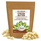 Manteca de Cacao Bio en Gotas / obleas / botones - Sin endulzar - 500g
