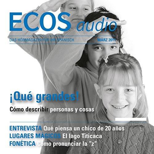 ECOS audio - Qué grandes! 3/2011 Titelbild