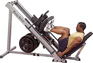 Body-Solid GLPH1100 Leg Press and Hack Squat Machine for Weight Training, Home and Commercial Gym