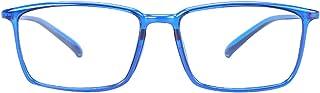 Duco Lunettes anti lumière bleu, lunettes super légères pour gamers et utilisation d'ordinateur 306