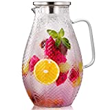 Best iced tea maker - Hiware 75 Ounces Glass Pitcher with 18/8 Stainless Review