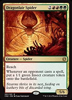 Magic: the Gathering - Dragonlair Spider (201/221) - Conspiracy 2: Take the Crown