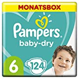 [page_title]-Pampers Baby-Dry Windeln, Gr. 6, 13kg-18kg, Monatsbox ( 1 x 124 Windeln)