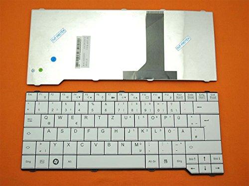 kompatibel für Fujitsu Siemens Celsius H265, H270 Tastatur - Farbe: Weiß - Deutsches Tastaturlayout
