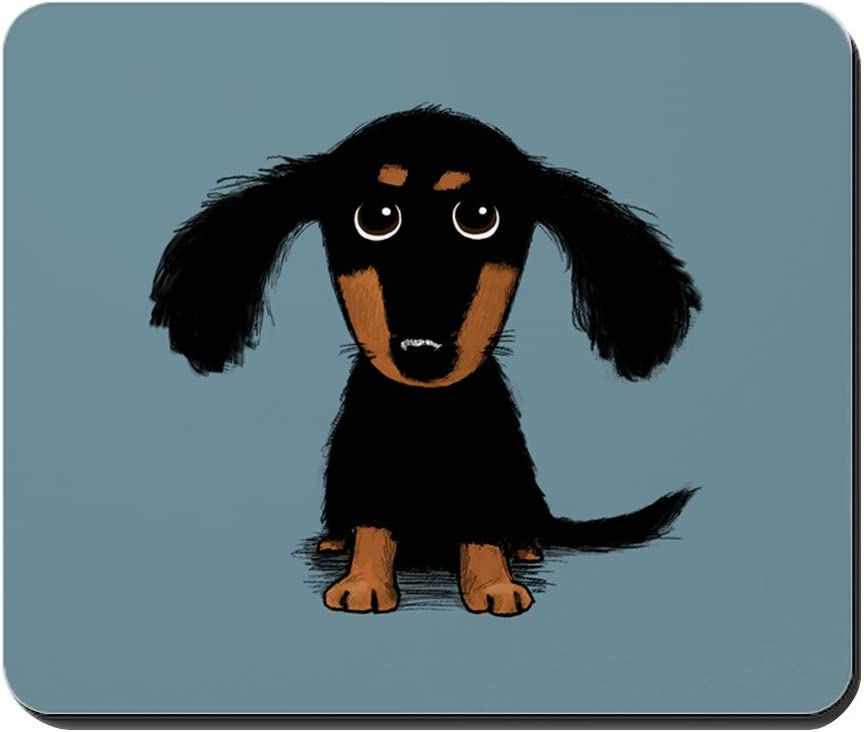 CafePress shopping Cute Dachshund Non-Slip Gaming SEAL limited product Mousepad Mouse Rubber
