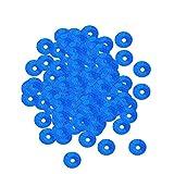 SUPVOX Paillettes per Decorazioni Cucito Lustrini Rotondi 6mm (Blu Scuro)