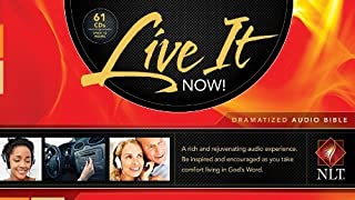 Live It Now! Dramatized Audio New Testament (Bible Audio) by Tyndale House Publishers, Inc. (2012-08-31)