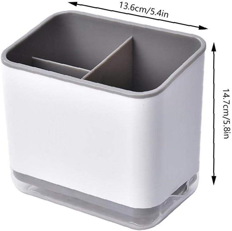 Caja de Cubiertos Estante Fregadero escurridor Compartimento Berrywho Cubiertos escurridor Caja de Almacenamiento Palillos Tenedor Cuchara