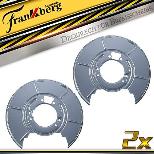 2x Deckblech Spritzblech Ankerblech Bremsscheibe Hinten Links Rechts für 3er E36 E46 Z4 E85 1990-2009 1160643