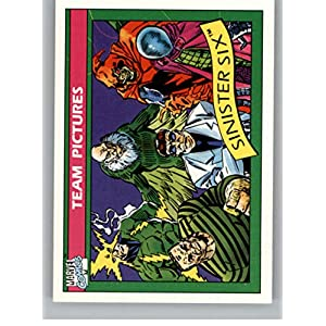 1990 Impel Marvel Universe #146 Sinister Six Non Sport Entertainment Trading Card in Raw (NM or Better) Condition