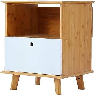 Strong Sturdy bookshelf Solid wood bookcase, bedside cabinet locker Floor-standing bookshelf