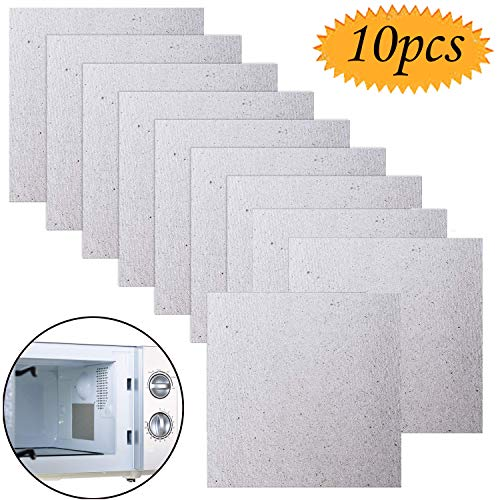 UNIVERSAL MICROWAVE WAVE GUIDE COVERS CUT TO FIT 8 x 5 INCH 0.5MM THICK