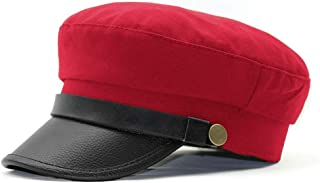 Roffatide Unisex Adult Newsboy Cap Fiddler Hat Driver Officer Chauffeur Cosplay Costume