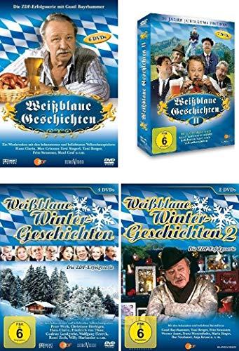 Weißblaue Geschichten / Weißblaue Wintergeschichten 1+2 im Set - Deutsche Originalware [19 DVDs]