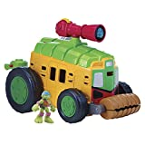 Tortues Ninja - 6734 - Figurine Animation - Camion De Combats avec 30 Sons Et Figurine Exclusive - 6 cm