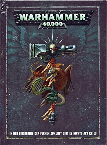 Hardcover Regelbuch 8. Edition Warhammer 40,000 (Deutsch)