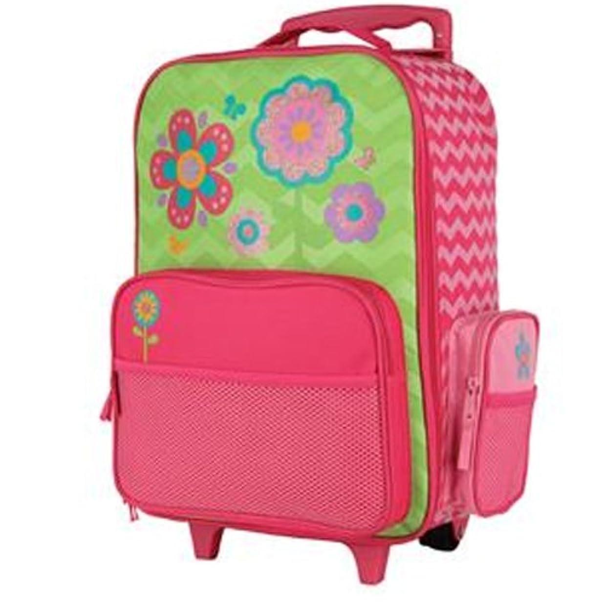 私達真っ逆さま人ステファンジョセフ 女の子用シェブロンフラワーGO-GOキャリーケース(直立型)6歳以上対象 花柄,トローリー,キャリーバッグ,スーツケース,トランク,旅行,通学バッグ [並行輸入品]