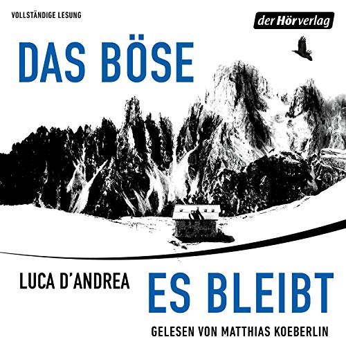 Das Böse, es bleibt                   By:                                                                                                                                 Luca D'Andrea                               Narrated by:                                                                                                                                 Matthias Koeberlin                      Length: 9 hrs and 59 mins     1 rating     Overall 4.0