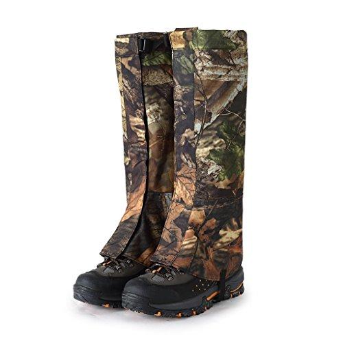 Yundxi Camo Legging Gaiters Waterproof Snowboard Boots Cover Trekking Shoes...